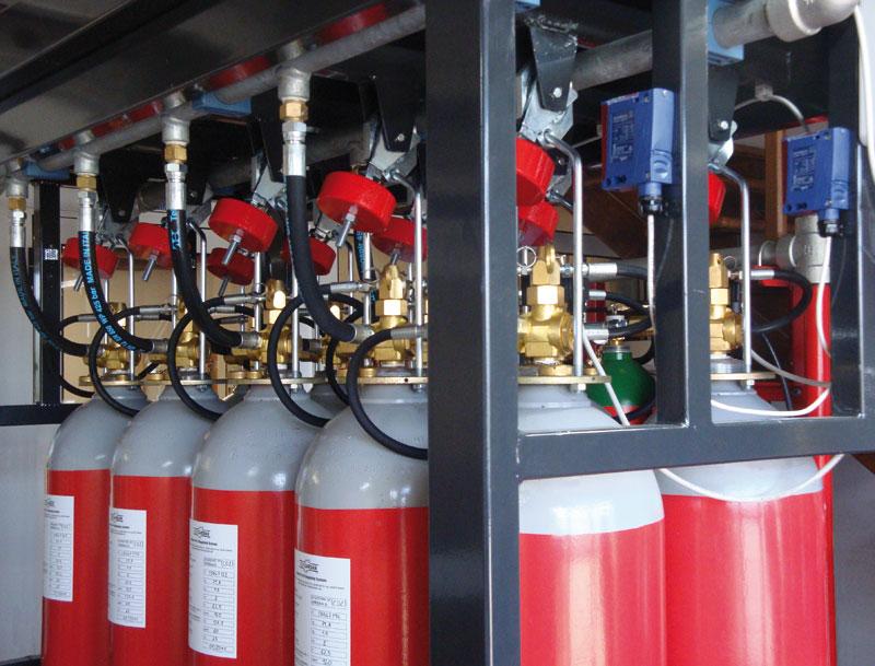 Carbon Dioxide Co2 Sames Antincendio